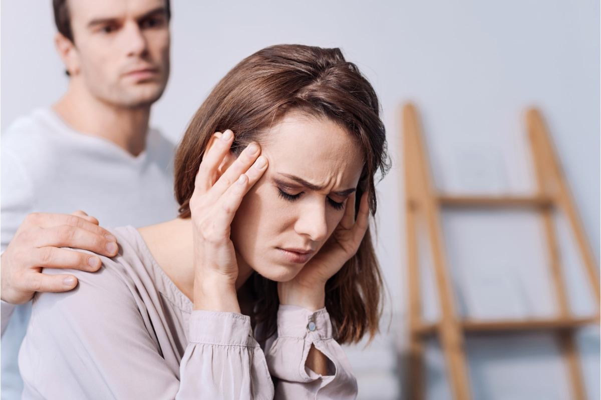 Linderung von Kopfschmerzen